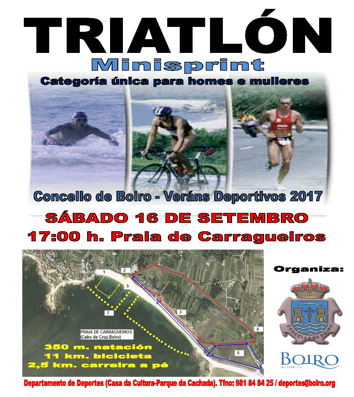 Triatlón Minisprint